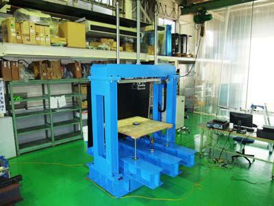 サーボプレス式 加圧試験機